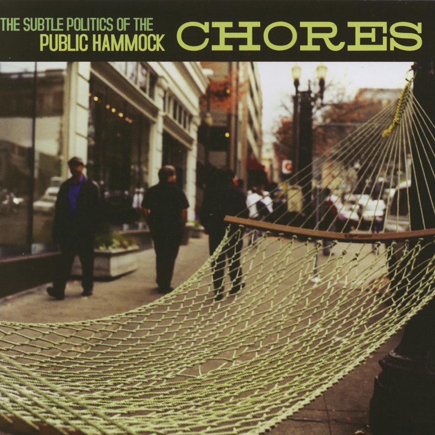 chores, public hammock